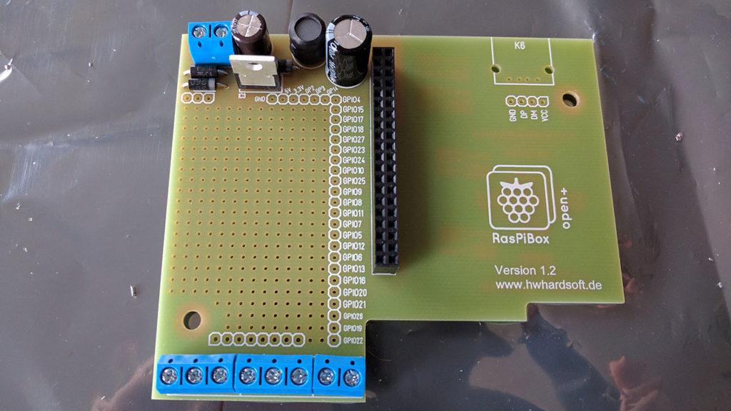 RasPiBox solder