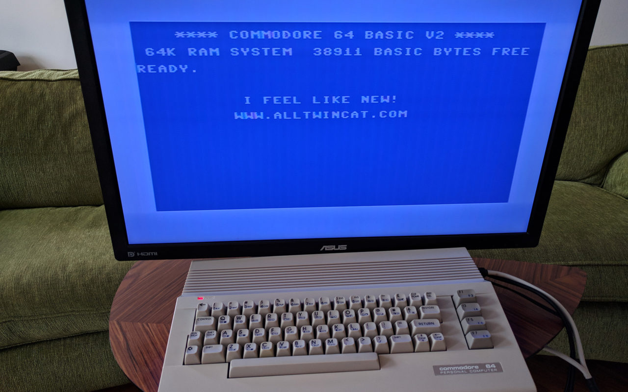 Commodore 64 restoration – AllTwinCAT
